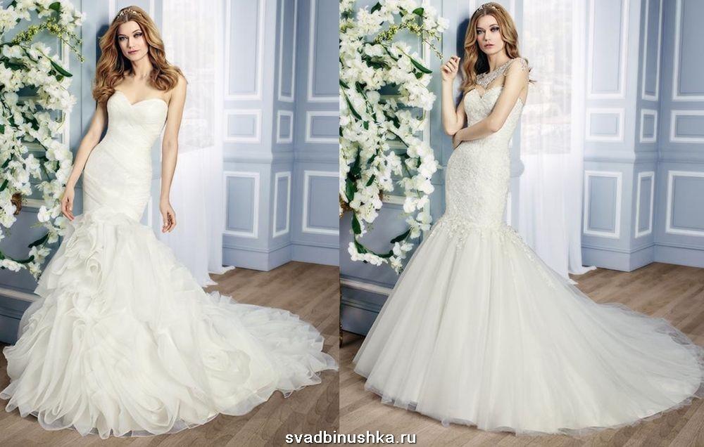 Свадебная прическа русалочка